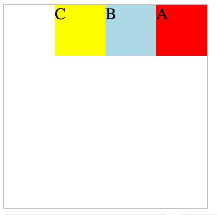 row-reverse